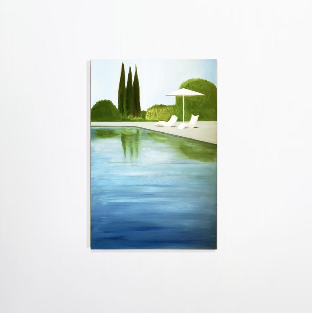 Salomon Huerta - Poolside Shade, 2019