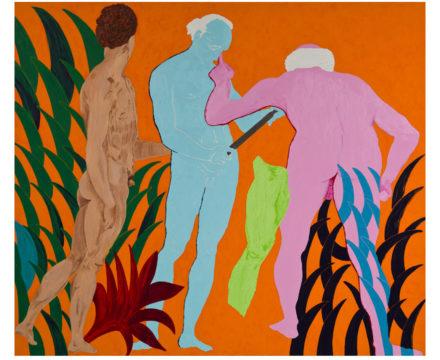 Thomas Lawson - Confrontation - Three Graces - 2010 - (72 x 120 in)