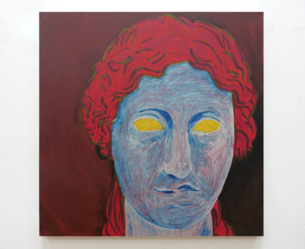 Thomas Lawson - Roman Head II - 2016 - (30 x 30 in - 76.2 x 76.2 cm)