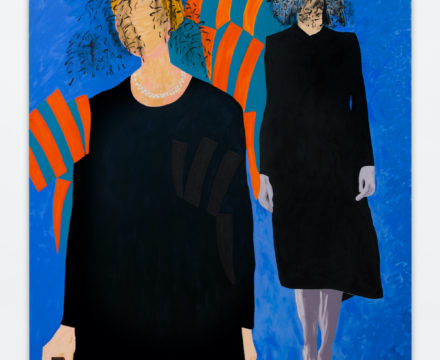Thomas Lawson - Soulless sisters - 2017 - (84 x 72 in - 213 x 183 cm)