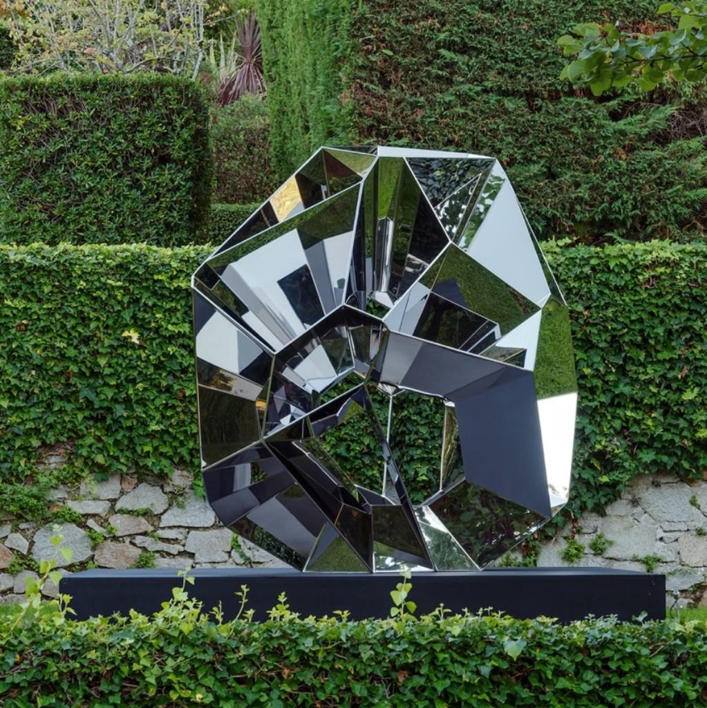 Louise Alexander Gallery - Arik Levy - Crater Stainless Steel